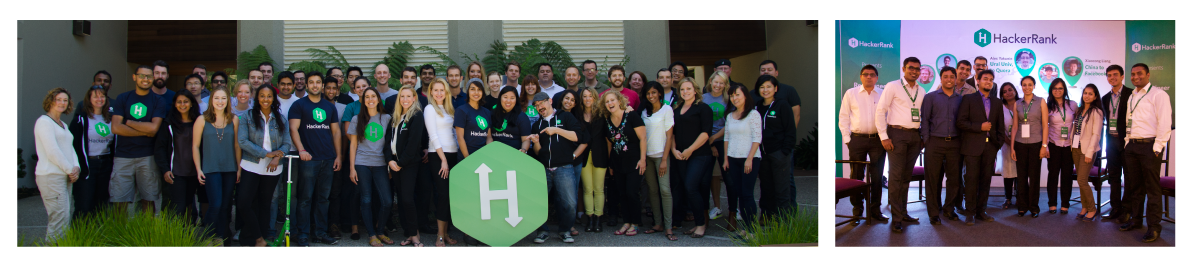 HackerRank team photos